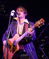 Grinspoon lead singer Phil Jamieson performing at the Ian Rilen benefit concert, 5 October 2006