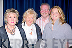 Enjoying the Kilkennys in concert at St . John's Theatre Listowel on Saturday night were Mai Moran, Micheal MacKey, Kerry Moran, Ballybunion.   Copyright Kerry's Eye 2008