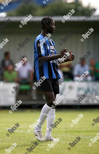 2010-07-21 / Seizoen 2010-2011 / Voetbal / K. Rupel Boom / Kourouma (Baba) Tidiane..Foto: mpics