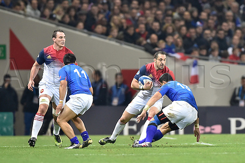 12.11.2016. Stadium Toulouse, Toulouse, France. Autumn International rugby match, France versus Samoa.  Scott Spedding (fr)