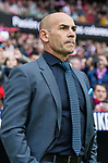 Coach Francisco Jemez Martin, Paco Jemez, of UD Las Palmas prior to the La Liga 2017-18 match between Atletico de Madrid and UD Las Palmas at Wanda Metropolitano  on January 28 2018 in Madrid, Spain. Photo by Diego Souto / Power Sport Images
