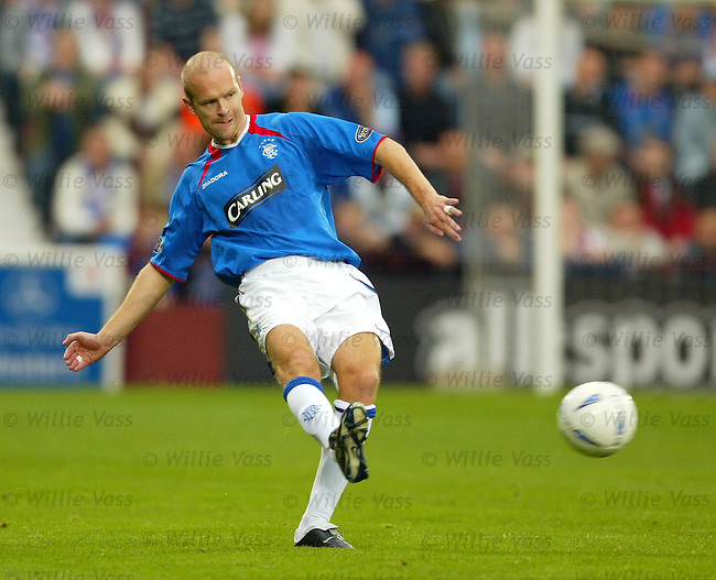 Henning Berg, Rangers.stock season 2003-04..pic willie vass