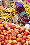 Fruite and vegetable seller, Pushkar, India