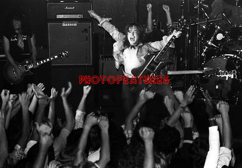Rick Derringer 1977.© Chris Walter.