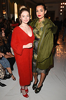Nell Hudson and Georgina Campbell at the Jasper Conran Spring Summer 2018 show as part of London Fashion Week, London, UK. <br /> 16 September  2017<br /> Picture: Steve Vas/Featureflash/SilverHub 0208 004 5359 sales@silverhubmedia.com