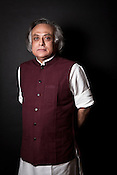 Indian Environment minister Jairam Ramesh poses for a portrait in his office in New Delhi, India. photograph: Sanjit Das/Panos