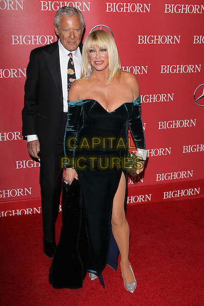 PALM SPRINGS, CA - JANUARY 2: Alan Hamel and Suzanne Somers at the 27th Annual Palm Springs International Film Festival Awards Gala at Palm Springs Convention Center on January 2, 2016 in Palm Springs, California. <br /> CAP/MPI24<br /> &copy;MPI24/Capital Pictures