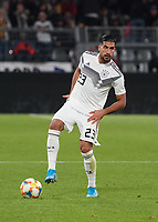 Emre Can (Deutschland Germany) - 09.10.2019: Deutschland vs. Argentinien, Signal Iduna Park, Freunschaftsspiel<br /> DISCLAIMER: DFB regulations prohibit any use of photographs as image sequences and/or quasi-video.