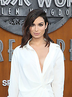 LOS ANGELES, CA - JUNE 12: Ashley Iaconetti, at Jurassic World: Fallen Kingdom Premiere at Walt Disney Concert Hall, Los Angeles Music Center in Los Angeles, California on June 12, 2018. <br /> CAP/MPIFS<br /> &copy;MPIFS/Capital Pictures
