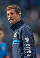 Shrewsbury Town first-team coach George Pilkington <br /> <br /> Photographer David Horton/CameraSport<br /> <br /> The EFL Sky Bet League One - Portsmouth v Shrewsbury Town - Saturday September 8th 2018 - Fratton Park - Portsmouth<br /> <br /> World Copyright &copy; 2018 CameraSport. All rights reserved. 43 Linden Ave. Countesthorpe. Leicester. England. LE8 5PG - Tel: +44 (0) 116 277 4147 - admin@camerasport.com - www.camerasport.com