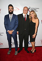 LOS ANGELES, CA - NOVEMBER 3: Rabi Abonour, Dr. Rafat M. Abonour, MD, Mona Mansour, at The International Myeloma Foundation's 12th Annual Comedy Celebration at The Wilshire Ebell Theatre in Los Angeles, California on November 3, 2018.   <br /> CAP/MPI/FS<br /> &copy;FS/MPI/Capital Pictures
