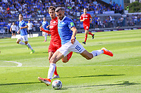 Serdar Dursun (SV Darmstadt 98) zieht ab - 04.08.2019: SV Darmstadt 98 vs. Holstein Kiel, Stadion am Boellenfalltor, 2. Spieltag 2. Bundesliga<br /> DISCLAIMER: <br /> DFL regulations prohibit any use of photographs as image sequences and/or quasi-video.