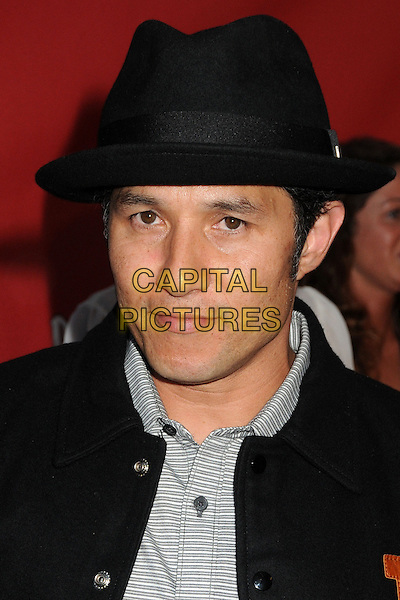 Christian Hosoi<br /> 9th Annual MusiCares MAP Fund Benefit Concert - Arrivals held at Club Nokia, Los Angeles, California, USA, 30th May 2013.<br /> portrait headshot black hat fedora trilby <br /> CAP/ADM/BP<br /> &copy;Byron Purvis/AdMedia/Capital Pictures
