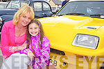 Irene and Chloe Nagle (Castlemaine)  pictured at Castlemaine vintage day on Sunday.