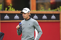 Joakim Lagergren (SWE) on the 1st tee during Saturday's Round 3 of the 2017 Omega European Masters held at Golf Club Crans-Sur-Sierre, Crans Montana, Switzerland. 9th September 2017.<br /> Picture: Eoin Clarke | Golffile<br /> <br /> <br /> All photos usage must carry mandatory copyright credit (&copy; Golffile | Eoin Clarke)