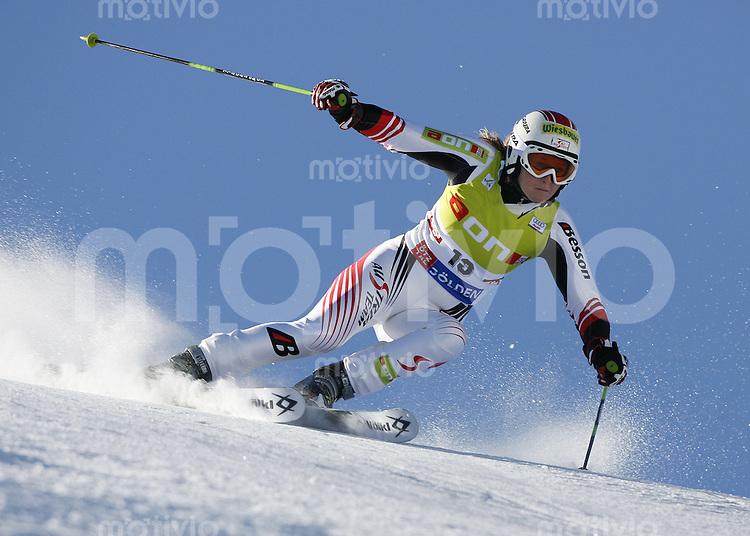 Ski Alpin Weltcup  Saisonauftakt in Soelden , AUT Riesenslalom Damen 27.10.07 MEISSNITZER, Alexandra   (AUT)