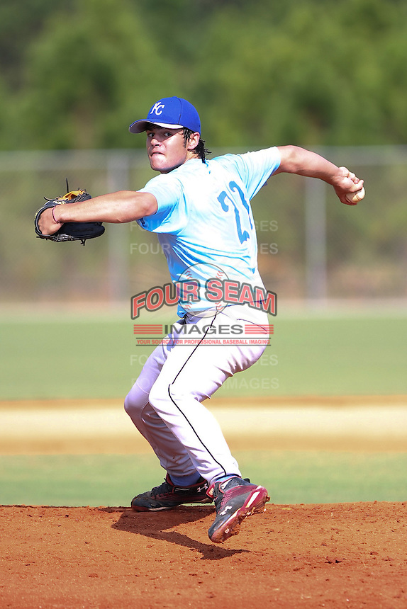 Lance McCullers participates in the World Wood Bat Classic at the Roger Dean Complex in Jupiter, Florida on October 22, 2010.  Photo By Stacy Jo Grant/Four Seam Images