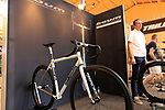 Baum Cycles stand at Bespoked 2018 UK handmade bicycle show held at Brunel's Old Station & Engine Shed, Bristol, England. 21st April 2018.<br /> Picture: Eoin Clarke | Cyclefile<br /> <br /> <br /> All photos usage must carry mandatory copyright credit (© Cyclefile | Eoin Clarke)
