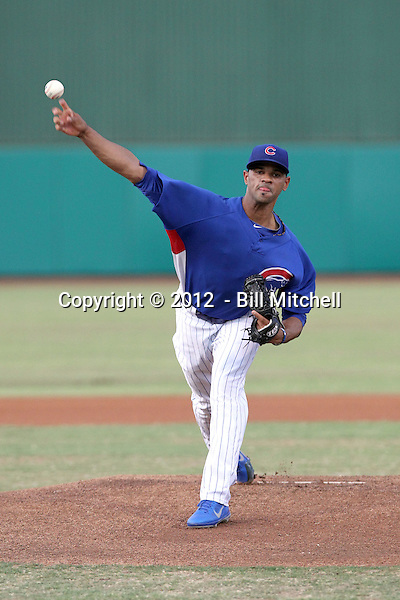 Lendy Castillo - 2012 AZL Cubs (Bill Mitchell)
