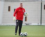 19.3.2018: Scotland u21 training:<br /> Tony Caig