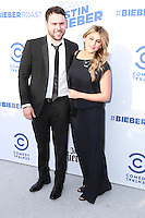 Scooter Braun, Yael Cohen<br /> at the Comedy Central Roast of Justin Bieber, Sony Pictures Studios, Culver City, CA 03-14-15<br /> David Edwards/DailyCeleb.Com 818-249-4998