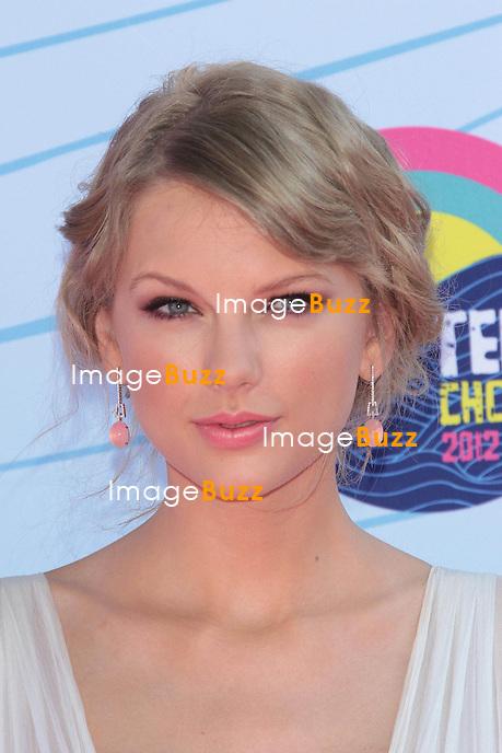 Taylor Swift  at the 2012 Teen Choice Awards..Los Angeles, July  22, 2012.