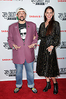 "LOS ANGELES - OCT 15:   Kevin Smith, Jennifer Schwalbach Smith at the ""Jay & Silent Bob Reboot"" Los Angeles Premiere at the TCL Chinese Theater on October 15, 2019 in Los Angeles, CA"