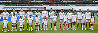 Mexico City, Mexico - Sunday June 11, 2017: Mexico, El Tri starting eleven during a 2018 FIFA World Cup Qualifying Final Round match with both men's national teams of the United States (USA) and Mexico (MEX) playing to a 1-1 draw at Azteca Stadium.