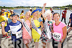 from left Jane Boyle and Aine Butler pictured at the Rose of Tralee International 10k Race in Tralee on Sunday.