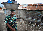 A woman in Batey Bombita, a community in the southwest of the Dominican Republic whose population is composed of Haitian immigrants and their descendents.