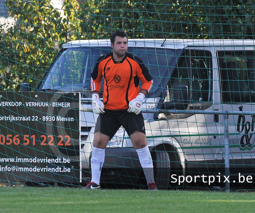 FC Eendracht Kuurne : Yannic Herreman.foto VDB / BART VANDENBROUCKE