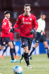 Muangthong Forward Xisco Jimenez in action during the AFC Champions League 2017 Group E match between  Ulsan Hyundai FC (KOR) vs Muangthong United (THA) at the Ulsan Munsu Football Stadium on 14 March 2017 in Ulsan, South Korea. Photo by Chung Yan Man / Power Sport Images