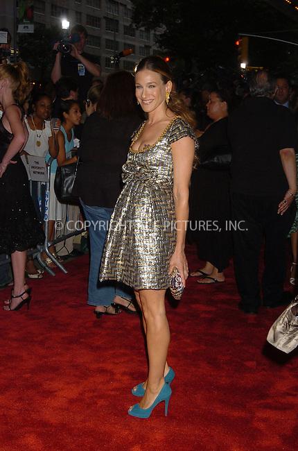 WWW.ACEPIXS.COM . . . . .  ....June 19, 2006, New York City. ....Sarah Jessica Parker attends 'The Devil Wears Prada' Premiere. ....Please byline: AJ Sokalner - ACEPIXS.COM.... *** ***..Ace Pictures, Inc:  ..(212) 243-8787 or (646) 769 0430..e-mail: picturedesk@acepixs.com..web: http://www.acepixs.com