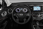 Car pictures of steering wheel view of a 2016 Infiniti QX60 - 5 Door Suv Steering Wheel