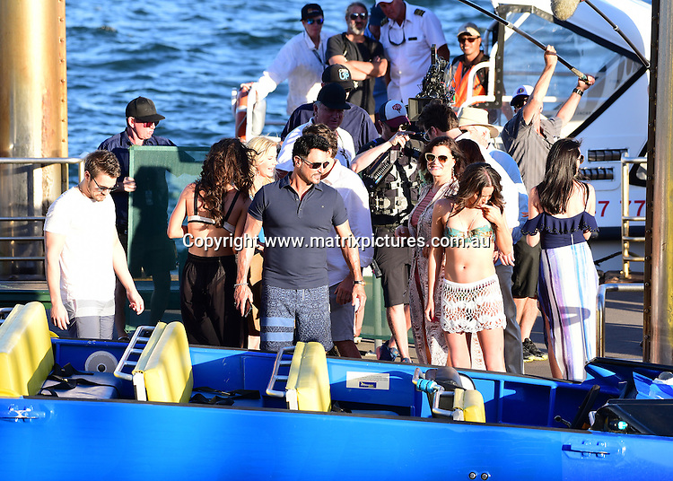 13 February 2017 SYDNEY AUSTRALIA<br /> WWW.MATRIXPICTURES.COM.AU<br /> <br /> EXCLUSIVE PICTURES<br /> The Bold and the Beautiful cast  go jet boating on Sydney harbour, Sydney, Australia on 13 February 2017 .<br /> <br /> *No internet without clearance*.<br /> <br /> MUST CALL PRIOR TO USE <br /> <br /> +61 2 9211-1088. <br /> <br /> Matrix Media Group.Note: All editorial images subject to the following: For editorial use only. Additional clearance required for commercial, wireless, internet or promotional use.Images may not be altered or modified. Matrix Media Group makes no representations or warranties regarding names, trademarks or logos appearing in the images.