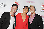 BEVERLY HILLS, CA- SEPTEMBER 13: (L-R) Actor Michael Turchin, TV personality Chris Jenner and singer Lance Bass attend the Brent Shapiro Foundation for Alcohol and Drug Awareness' annual 'Summer Spectacular Under The Stars' at a private residence on September 13, 2014 in Beverly Hills, California.