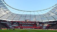 29.09.2018, xjhx, Fussball 1. Bundesliga, Bayer 04 Leverkusen - Borussia Dortmund emspor, v.l. choreographie leverkusen (DFL/DFB REGULATIONS PROHIBIT ANY USE OF PHOTOGRAPHS as IMAGE SEQUENCES and/or QUASI-VIDEO) Leverkusen *** 29 09 2018 xjhx Soccer 1 Bundesliga Bayer 04 Leverkusen Borussia Dortmund emporer v le choreography leverkusen DFL DFB REGULATIONS PROHIBIT ANY USE OF PHOTOGRAPHS as IMAGE SEQUENCES and or QUASI VIDEO Leverkusen  <br /> Bundesliga<br /> Foto Imago/Insidefoto <br /> ITALY ONLY