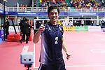 Seiya Takano (JPN), <br /> AUGUST 31, 2018 - Sepak takroae : <br /> Men's semi-final match between Japan - Vietnam<br /> at Jakabaring Sport Center Ranau Hall <br /> during the 2018 Jakarta Palembang Asian Games <br /> in Palembang, Indonesia. <br /> (Photo by Yohei Osada/AFLO SPORT)