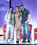 Yandel,Jennifer Lopez and Enrique Iglesias  and Atlantico Rum celebrate the upcoming Enrique Iglesias, Jennifer Lopez and Wisin & Yandel Tour at Boulevard3 on April 30, 2012 in Hollywood, California.  in Hollywood, California on April 30,2012                                                                               © 2012 Debbie VanStory / Hollywood Press Agency