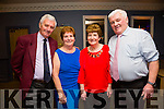 At the Kerry Supporters Club social on Saturday night in Ballygarry House Hotel were Tom Costello, Annette Costello, Mary Spillane and Maurice Spillane