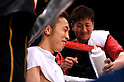 ^¾¶--²?°/Takahiro Aou (JPN),..APRIL 8, 2011 - Boxing :..Takahiro Aou of Japan smiles as he sits in his corner during the WBC super featherweight title bout at World Memorial Hall in Kobe, Hyogo, Japan. (Photo by Mikio Nakai/AFLO)