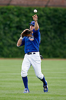 August 9, 2009:  Left Fielder John-Ford Griffin of the Iowa Cubs during a game at Wrigley Field in Chicago, IL.  Iowa is the Pacific Coast League Triple-A affiliate of the Chicago Cubs.  Photo By Mike Janes/Four Seam Images