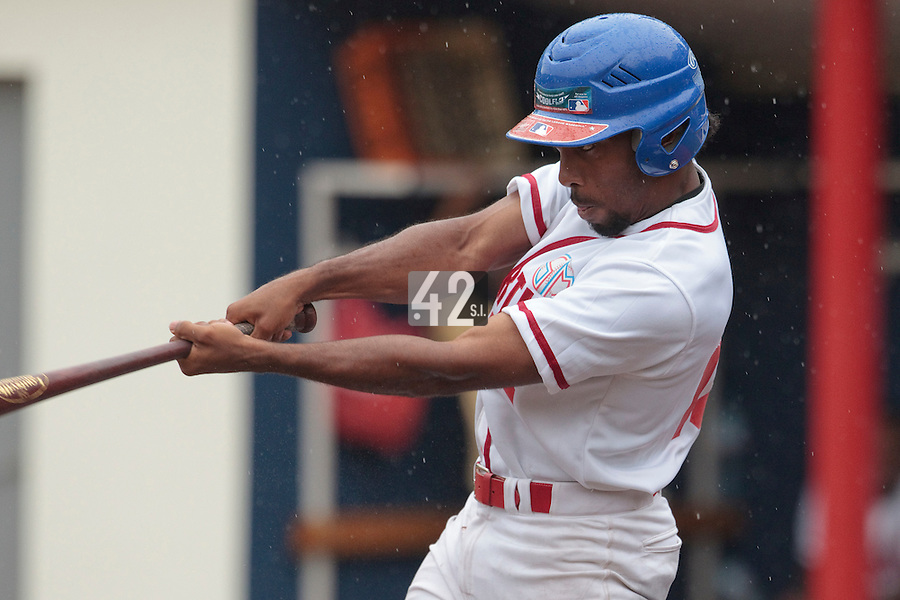 14 July 2010: Felix Brown of Team Saint Martin is seen during day 2 of the Open de Rouen, an international tournament with Team France, Team Saint Martin, Team All Star Elite, at Stade Pierre Rolland, in Rouen, France.