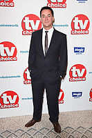 LONDON, UK. September 10, 2018: Dave Vitty at the TV Choice Awards 2018 at the Dorchester Hotel, London.<br /> Picture: Steve Vas/Featureflash