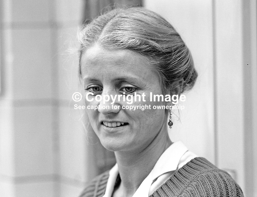 Carole Tongue, MEP, London East, Labour Party, UK, September, 1986, 19860917CT3<br />