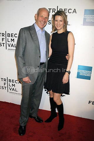 John Tisch and Lizzie Tisch at the opening night premiere of 'The Union' during the 2011 Tribeca Film Festival at North Cove at World Financial Center Plaza on April 20, 2011 in New York City. © mpi01/MediaPunch Inc.