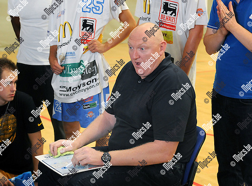2015-08-29 / Basketbal / Seizoen 2015-2016 / Kangoeroes Willebroek / Daniel Goethals<br /><br />Foto: Mpics.be