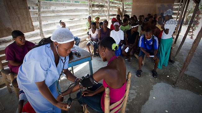 Leogane, Haiti, March 2010..Photo by Matt Cashore/University of Notre Dame