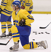 Patrik Zackrisson (Frolunda HC)  The US Blue team lost to Sweden 3-2 in a shootout as part of the 2005 Summer Hockey Challenge at the National Junior (U-20) Evaluation Camp in the 1980 rink at Lake Placid, NY on Saturday, August 13, 2005.