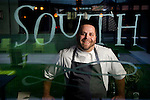 Executive chef Ryan Smith, photographed at Empire State South for Choice Tables on Saturday, April 23, 2011 in Atlanta.  (Rich Addicks/Photographer) 10110950A